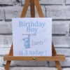 Personalised childs birthday card